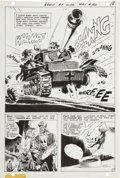 Original Comic Art:Panel Pages, Joe Kubert Our Army at War #193 Sgt. Rock page 15 OriginalArt (DC, 1968)....