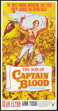 """The Son of Captain Blood (Paramount, 1963). Three Sheet (41"""" X 81""""). Swashbuckler"""
