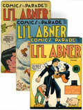 Golden Age (1938-1955):Miscellaneous, Comics On Parade Li'l Abner Group (United Features Syndicate, 1940-47).... (Total: 5 )