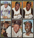 Baseball Cards:Lots, 1964 Topps Giant Baseball Hall of Fame Group of (6). ...