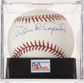 Autographs:Baseballs, Orlando Cepeda Single Signed Baseball PSA Mint+ 9.5....