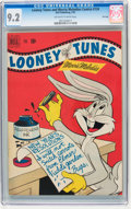 Golden Age (1938-1955):Cartoon Character, Looney Tunes and Merrie Melodies Comics #124 File Copy (Dell, 1952)CGC NM- 9.2 Off-white to white pages....