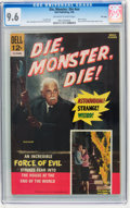 Silver Age (1956-1969):Horror, Movie Classics: Die, Monster, Die - File Copy (Dell, 1966) CGC NM+9.6 Off-white to white pages....