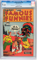 Golden Age (1938-1955):Miscellaneous, Famous Funnies #148 File Copy (Eastern Color, 1946) CGC NM+ 9.6 Off-white to white pages....