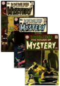Bronze Age (1970-1979):Horror, House of Mystery Group (DC, 1969-71) Condition: Average FN+.... (Total: 13 )