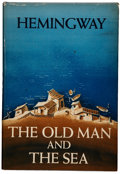 Books:First Editions, Ernest Hemingway. The Old Man and the Sea. New York: CharlesScribner's Sons, 1952.. First edition, in first state...
