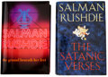 Books:First Editions, Salman Rushdie. Two Signed Books, including: The SatanicVerses. [and:] The Ground Beneath Her Feet. Both vo...(Total: 2 Items)