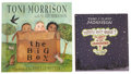 Books:First Editions, Toni Morrison. Two Signed Children's Books, including: The BigBox. [and:] Who's Got Game? The Ant or the ...(Total: 2 Items)