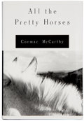 Books:Signed Editions, Cormac McCarthy. All the Pretty Horses. New York: Alfred A.Knopf, 1992.. First edition. Signed by Cormac McCart...