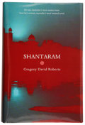 Books:Signed Editions, Gregory David Roberts. Shantaram. Melbourne: ScribePublications, [2003]. First edition. Signed by Roberts, with...