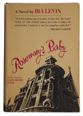 Books:First Editions, Ira Levin. Rosemary's Baby. New York: Random House, [1967].First edition. Inscribed by Levin on title page. Lig...
