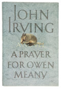 Books:First Editions, John Irving. A Prayer for Owen Meany. New York: WilliamMorrow, [1989]. First edition. Signed by Irving on title p...