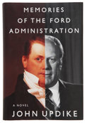 Books:First Editions, John Updike. Memories of the Ford Administration. New York:Knopf, 1992. First edition. Signed by President Ge...
