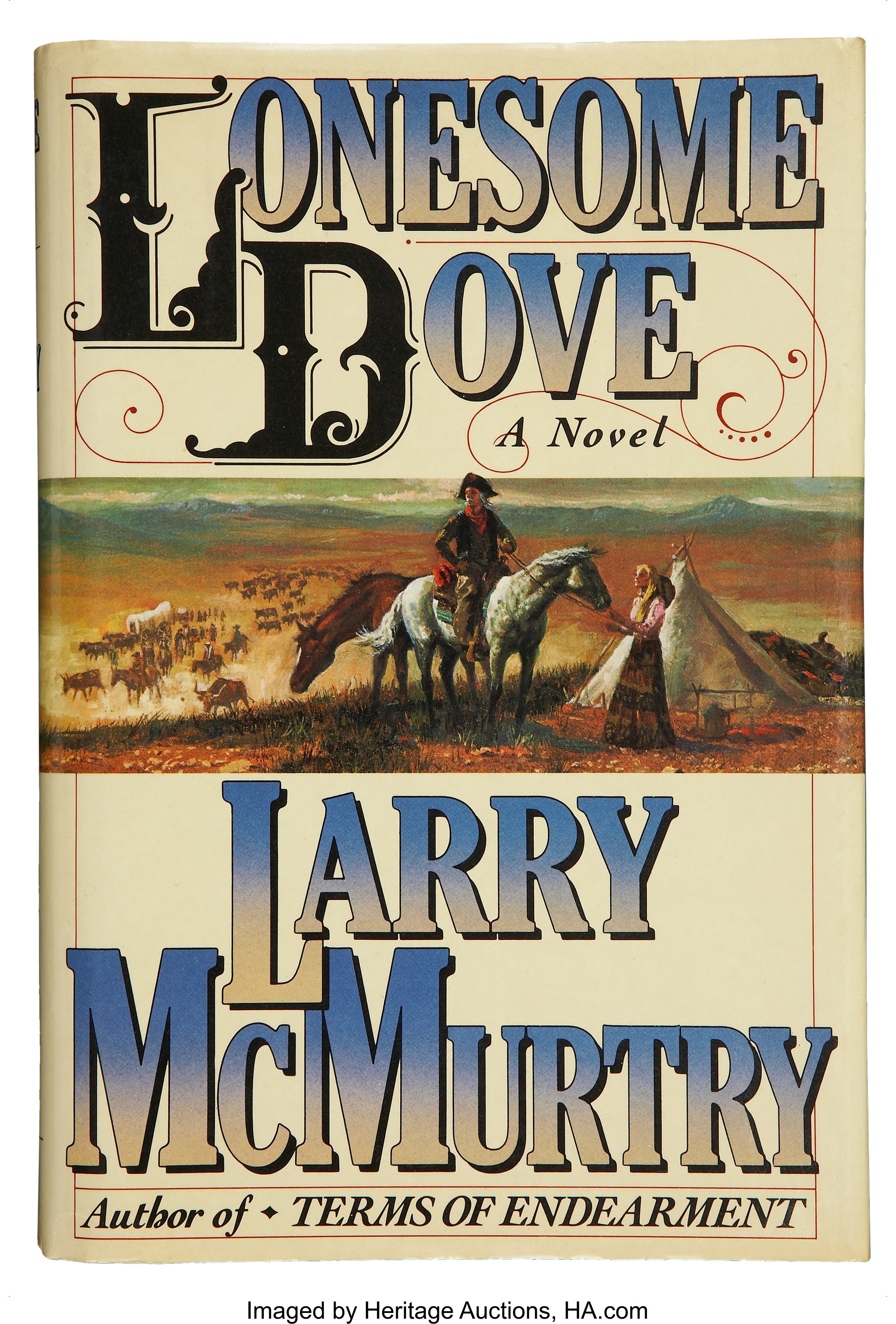 mcmurtry lonesome  Larry McMurtry. Lonesome Dove. New York: Simon & Schuster, | Lot ...