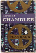 Books:First Editions, Raymond Chandler. Playback. Boston: Houghton Mifflin, 1958.First edition, first printing. Small octavo. 205 pages. ...