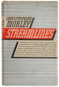 Books:First Editions, Christopher Morley. Streamlines. Garden City: Doubleday,Doran & Co., 1936. First edition. Signed by Morley on f...