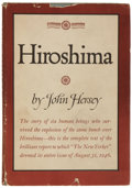Books:First Editions, John Hersey. Hiroshima. New York: Knopf, 1946. Firstedition. 117 pages. Very good in dust jacket....