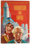 Books:First Editions, Isaac Asimov. Foundation and Empire. New York: Gnome PressPublishers, [1952].. First issue of the first editi...
