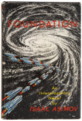 Books:First Editions, Isaac Asimov. Foundation. New York: Gnome Press Publishers,[1951].. First issue of the first edition. Currey ...