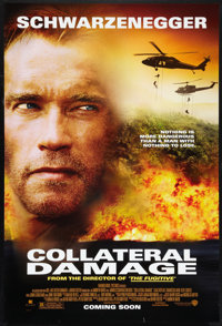 "Collateral Damage Lot (Warner Brothers, 2002). One Sheets (2) (27"" X 41""). DS Advance and SS. Action. ... (Tot..."