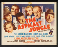 "The Asphalt Jungle (MGM, 1950). Title Lobby Card (11"" X 14""). Film Noir"