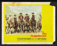 """The Magnificent Seven (United Artists, 1960). Lobby Cards (3) (11"""" X 14""""). Western. ... (Total: 3 Items)"""