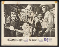 """The Misfits (United Artists, 1961). Lobby Cards (3) (11"""" X 14""""). Drama. ... (Total: 3 Items)"""