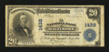 National Bank Notes:Maryland, Baltimore, MD - $20 1902 Plain Back Fr. 650 The NB of Baltimore Ch.# 1432. ...
