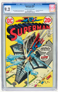 Bronze Age (1970-1979):Superhero, Superman #262 (DC, 1973) CGC NM- 9.2 Off-white to white pages.