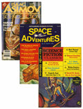 Pulps:Science Fiction, Pulps - Assorted Digest-Sized Science Fiction Pulps Box Lot(Various, 1963-87) Condition: Average FN-.... (Total: 33 )