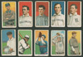 Baseball Cards:Lots, 1909-11 T206 White Borders Baseball Group of (10). ...