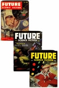 Pulps:Science Fiction, Future Group (Columbia, 1954-60) Condition: Average VG+.... (Total:17 )