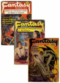 Pulps:Science Fiction, Avon Fantasy Reader/Avon Science Fiction Group (Avon, 1947-52)Condition: Average VG.... (Total: 13 )
