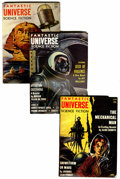 Pulps:Science Fiction, Fantastic Universe Group (King-Size Publications, 1954-59)Condition: Average VG/FN.... (Total: 11 )