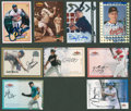 Autographs:Sports Cards, Major League Baseball Signed Insert Cards Lot of 9.... (Total: 9cards)