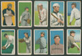 Baseball Cards:Lots, 1909-11 T206 White Border Tobacco Collection (10 Different)....