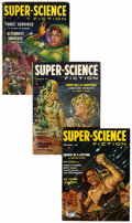 Pulps:Science Fiction, Super-Science Fiction Group (Headline Publications, 1956-58)Condition: Average VG/FN.... (Total: 6 )