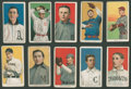 Baseball Cards:Lots, 1909-11 T206 White Borders Baseball Group of (10) With SouthernLeaguer. ...