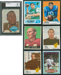 Football Cards:Lots, 1960's-1960's Superstars & Hall of Famers Football Collection (26). ...