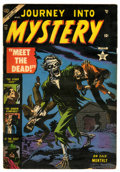 Golden Age (1938-1955):Horror, Journey Into Mystery #11 (Marvel, 1953) Condition: VG+....