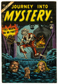 Golden Age (1938-1955):Horror, Journey Into Mystery #15 (Marvel, 1954) Condition: VG/FN....