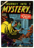 Golden Age (1938-1955):Horror, Journey Into Mystery #21 (Marvel, 1955) Condition: VG....