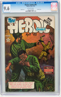 Golden Age (1938-1955):War, Heroic Comics #82 (Eastern Color, 1953) CGC NM+ 9.6 Off-whitepages....