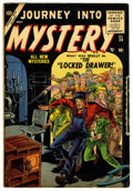 Golden Age (1938-1955):Horror, Journey Into Mystery #24 (Marvel, 1955) Condition: FN....