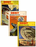 Pulps:Science Fiction, Orbit Science Fiction Group (Hanro Corporation, 1953-54) Condition:Average VG/FN.... (Total: 5 )