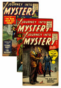 Golden Age (1938-1955):Horror, Journey Into Mystery #26, 28, and 30 Group (Marvel, 1955-56)Condition: Average VG/FN.... (Total: 3 Comic Books)