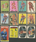Hockey Cards:Lots, 1950's-1960's Parkhurst & O-Pee-Chee Collection (35) With Howe,Plante and Sawchuk! ...