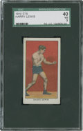 Boxing Cards:General, 1910 E78 Anonymous Harry Lewis SGC 40 VG 3....