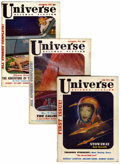 Pulps:Science Fiction, Universe Science Fiction Group (Palmer Publications, 1953-55)Condition: Average FN-.... (Total: 5 )