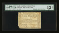 Colonial Notes:North Carolina, North Carolina May 10, 1780 $200 PMG Fine Net 12....
